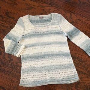 J. Jill Lightweight Pullover Sweater 3/4 sleeves